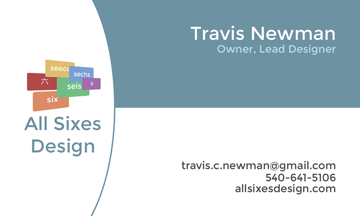 Business Card - All Sixes Design